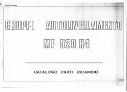 Manuali per mietitrebbiatrice Massey Ferguson 520 H4
