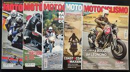Motociclismo 5 riviste fra 2006 e 2017.