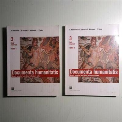 Documenta Humanitatis 3A-3B - Roncoroni, Gazich, Marinoni