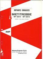 Manuale officina impianto idraulico Massey Ferguson 520/5