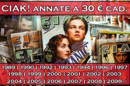 CIAKRiviste Cinema dal 1989 al 2009 Nuove