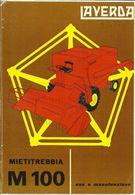 Manuali per mietitrebbiatrice Laverda M 100 e M 100 AL