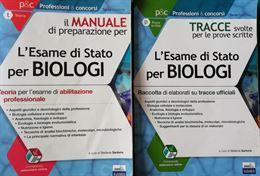 Manuale + Tracce Esame di Stato per Biologi