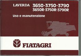Manuale di uso e manutenzione per Laverda 3650 3750 3790